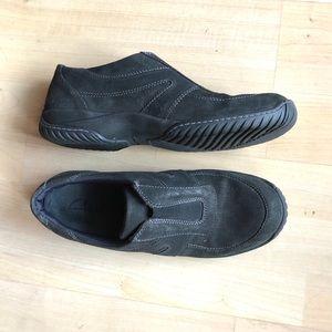 Clark's Black Slip On Shoes